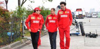 Vettel e Leclerc: per Binotto non c'è rivalità