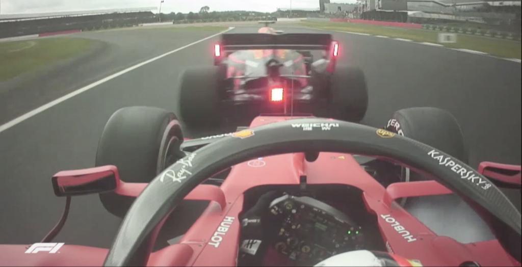 Onboard Ferrari GP Inghilterra