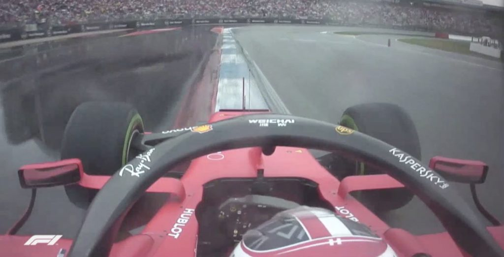 Onboard Ferrari GP Germania