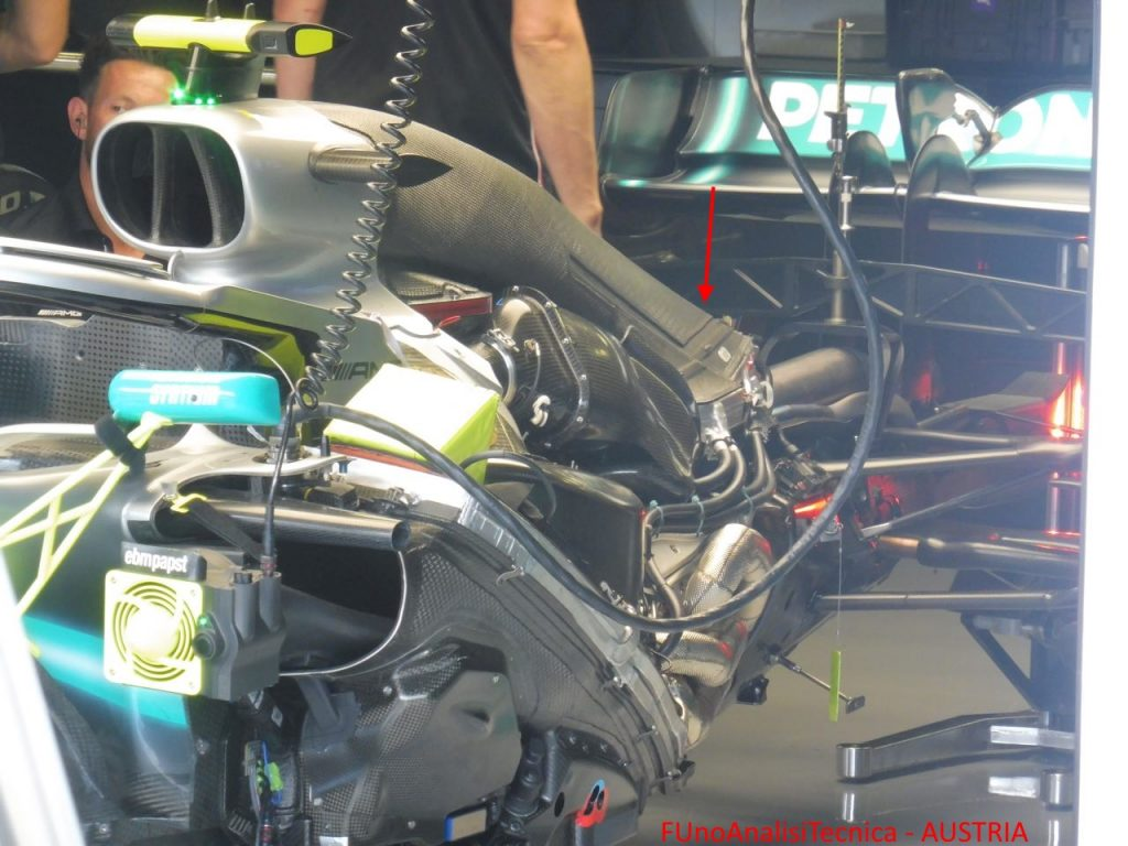 Power Unit Mercedes - GP AUSTRIA