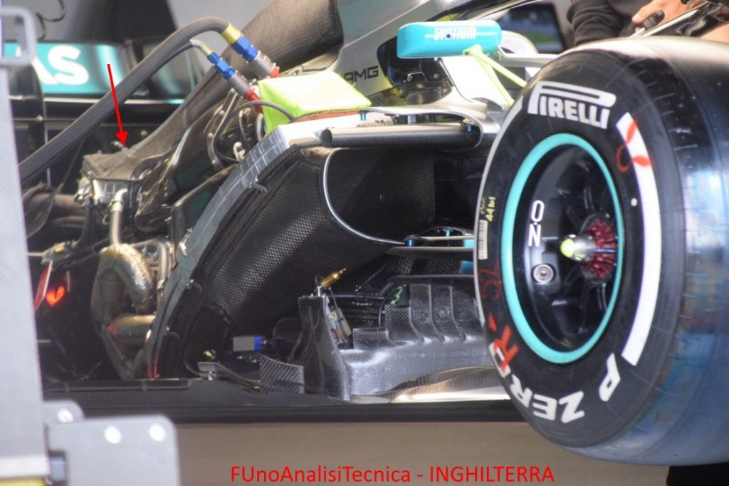 Power Unit Mercedes - GP INGHILTERRA