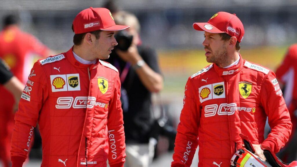 """Briatore: """"Leclerc sia il primo pilota"""", ma dimentica l' #EssereFerrari"""