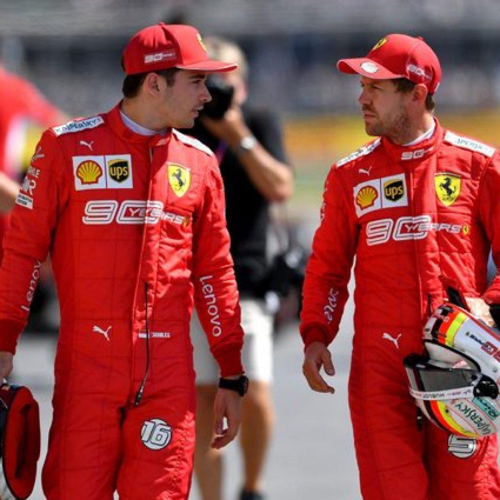 Vettel da mille e una notte