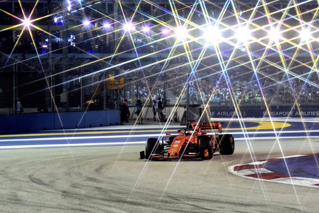 Singapore GP: Ferrari conquista Marina Bay