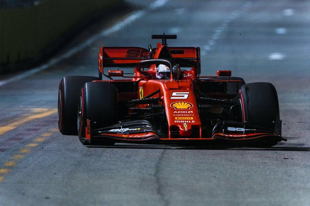 "Singapore GP-Vettel: ""Strategia perfetta"