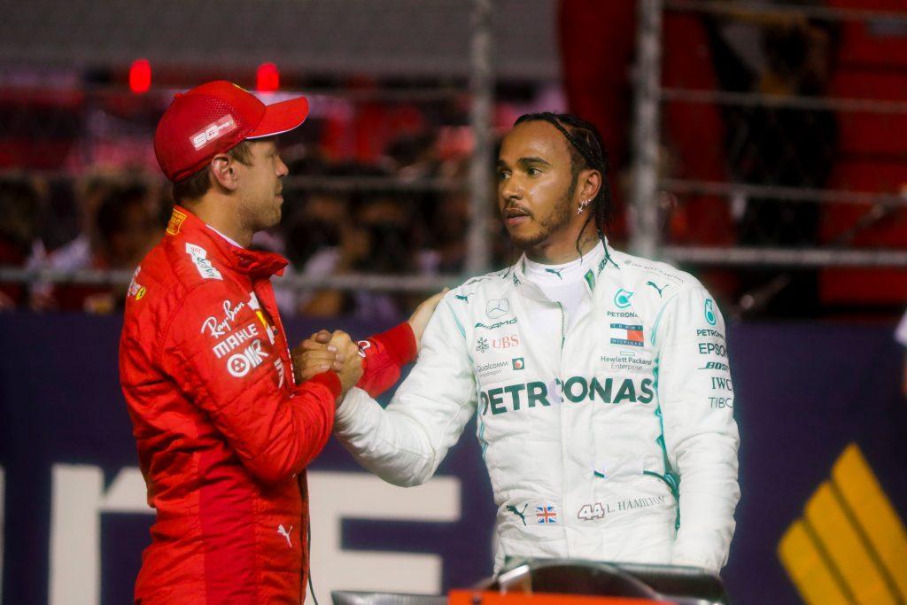 """Hamilton: """"La Ferrari è l'auto da battere nel resto della stagione"""""""