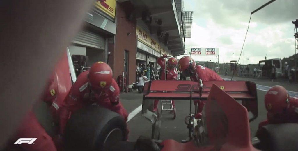Onboard Ferrari GP Belgio