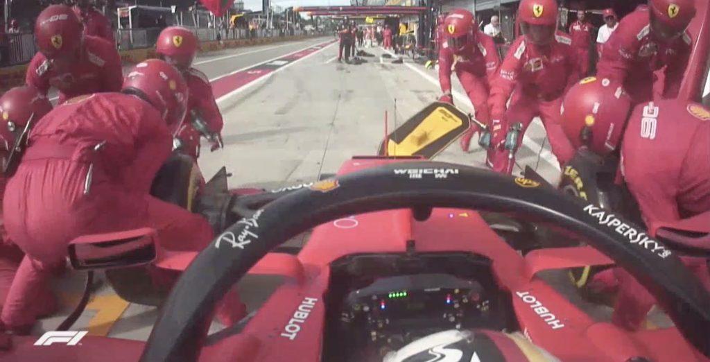 Onboard Ferrari