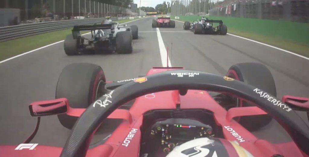 Onboard Ferrari GP d'Italia