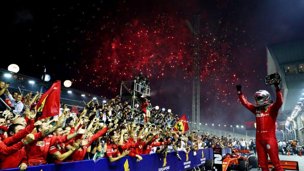 "Singapore GP-Vettel: ""Strategia perfetta"""