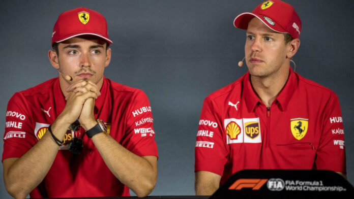 Leclerc vs Vettel: tensioni via radio