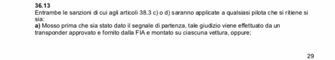 15 secondi di penalità per Leclerc