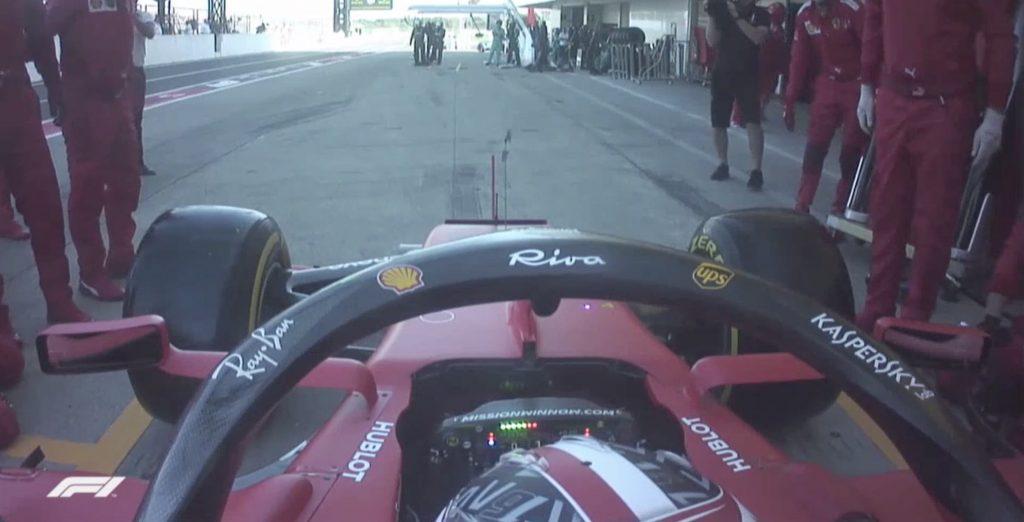 Onboard Ferrari GP Giappone