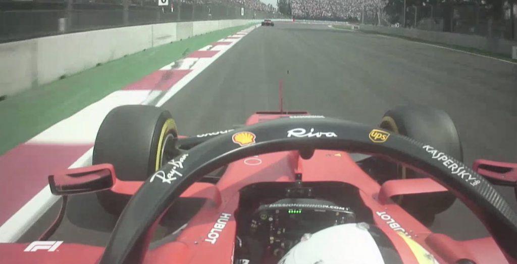 Onboard Ferrari GP Messico