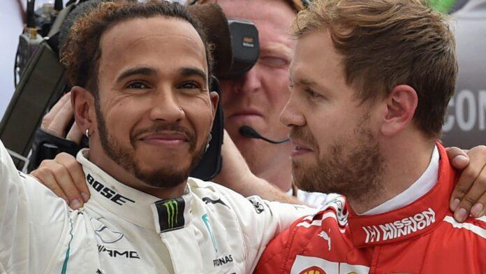 David Coulthard spinge Sebastian Vettel in Aston Martin