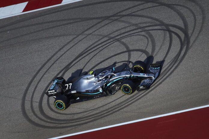 GP Stati Uniti-Gara: vince Bottas, Hamilton Campione del mondo per la sesta volta