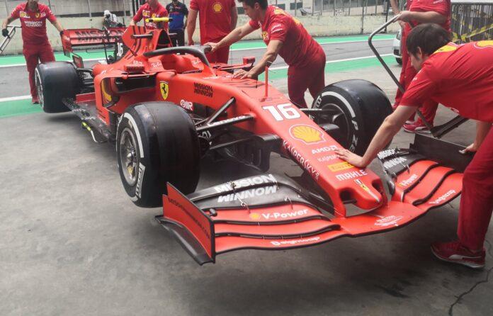 Ferrari differenzia il carico al posteriore