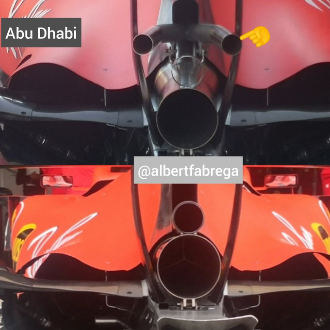 Ferrari testa una nuova configurazione della wastegate