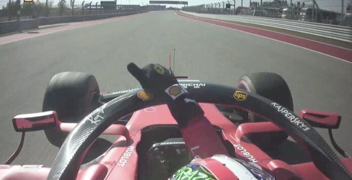 Onboard Ferrari GP Stati Uniti