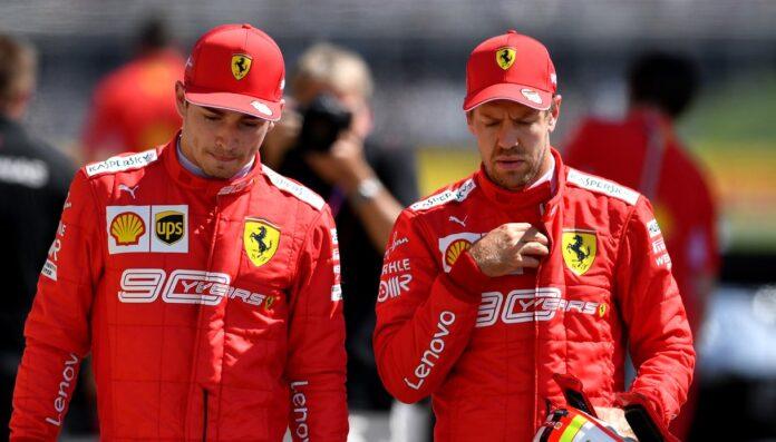 Vettel snobba la battaglia con Leclerc, Ferrari più importante