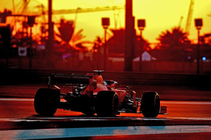 Onboard Ferrari GP Abu Dhabi