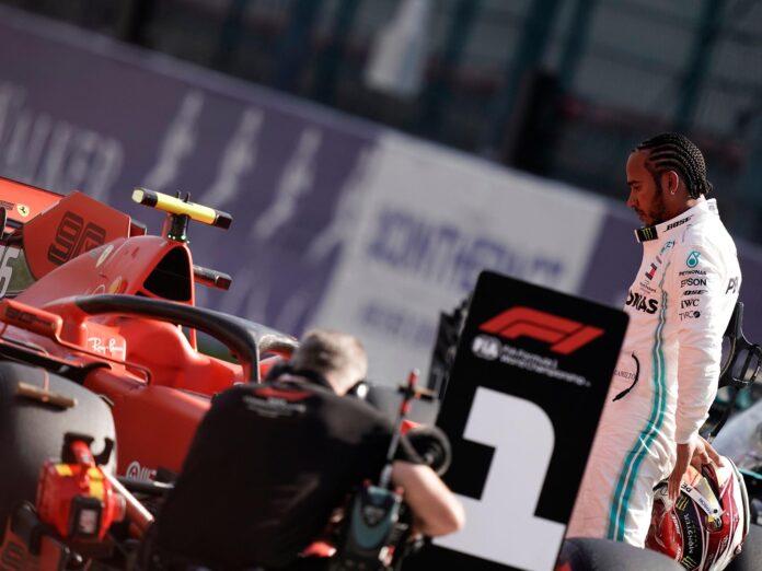 Ferrari + Hamilton