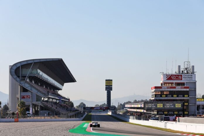 F1 Live: Test Barcellona 2020 Day 6