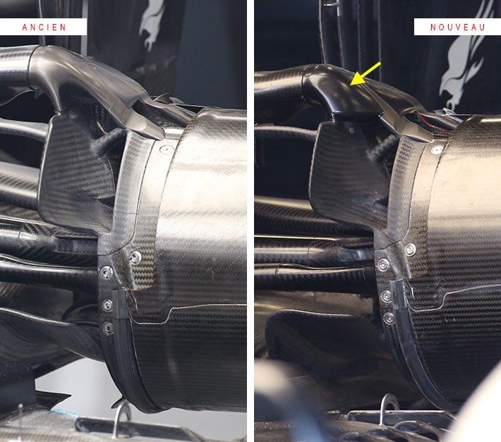 Gp Australia 2020: ecco come Mercedes aveva modificato le prese d'aria dei freni posteriori