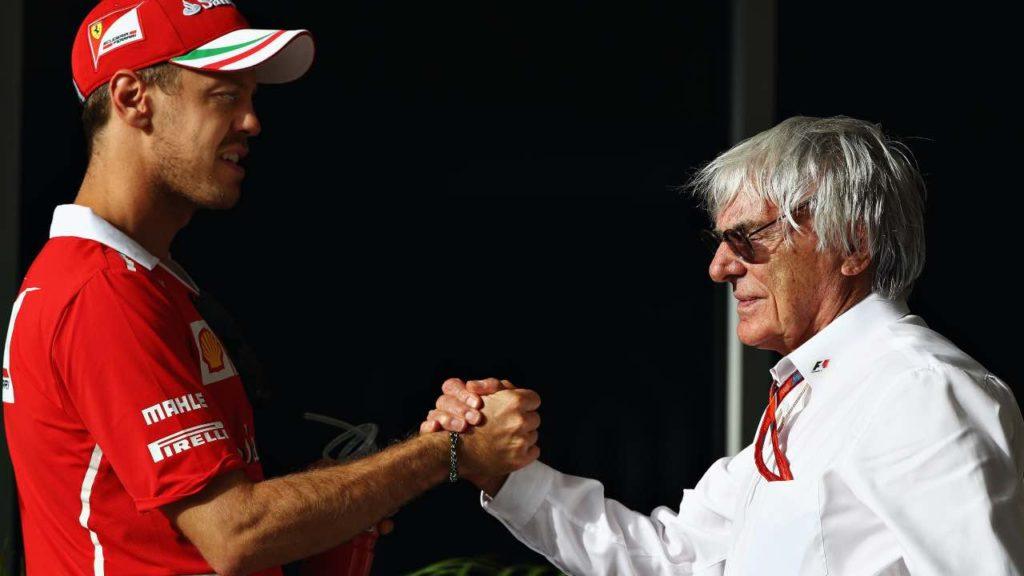 Ecclestone: Vettel può arrivare ai sette titoli di Schumacher…