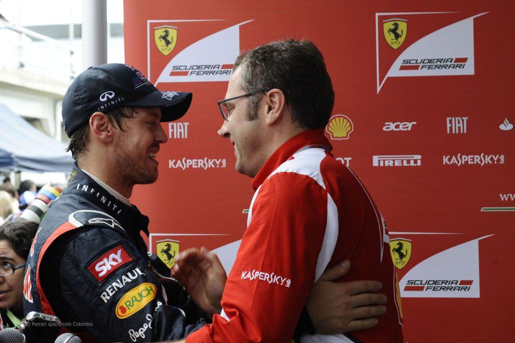Domenicali tra passato e presente della Ferrari...