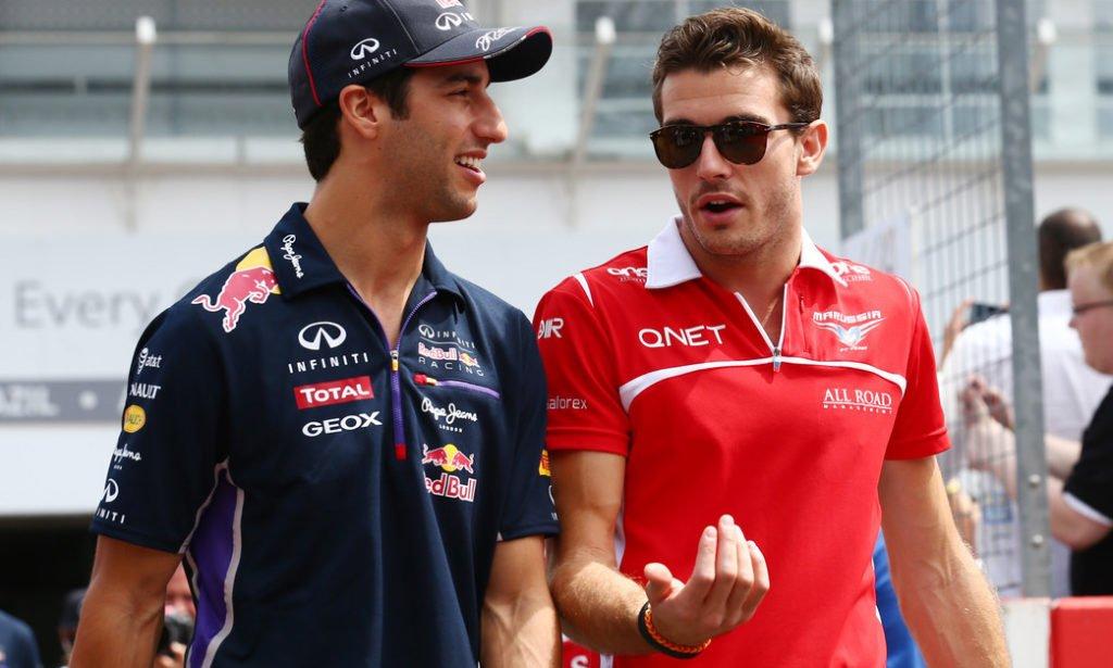 Daniel Ricciardo e Jules Bianchi