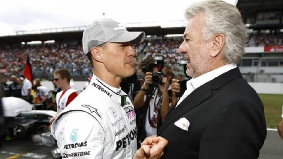 Michael Schumacher e Willi Webe