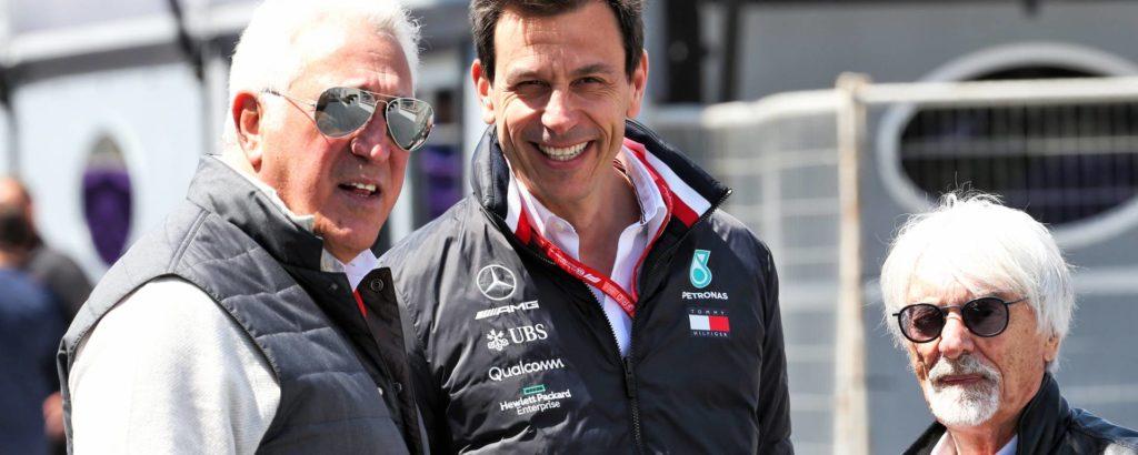 """Ecclestone prevede il futuro: Mercedes """"solo"""" motorista…"""