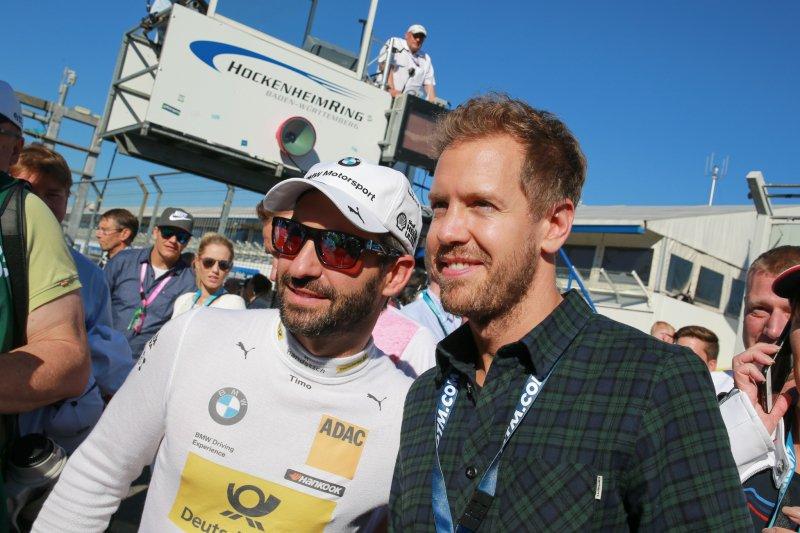 Timo Glock e Sabastian Vettel