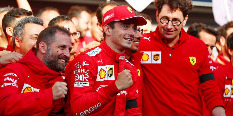 Binotto e il supporto per Vettel