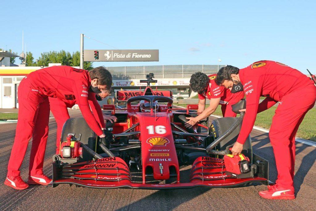 Ferrari: due gare difficli in attesa degli up date