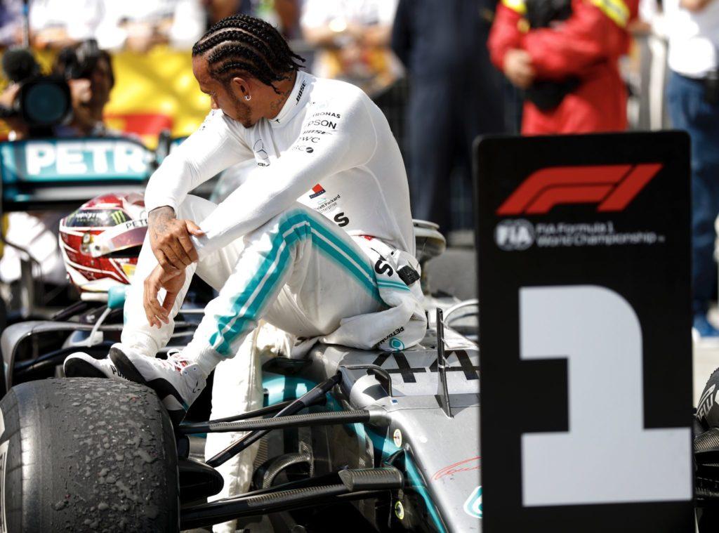 Lewis Hamilton dopo la vittoria del GP Canada 2019