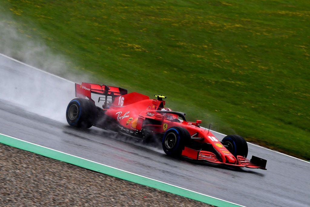 Leclerc amareggiato per l'ampio distacco dagli avversari