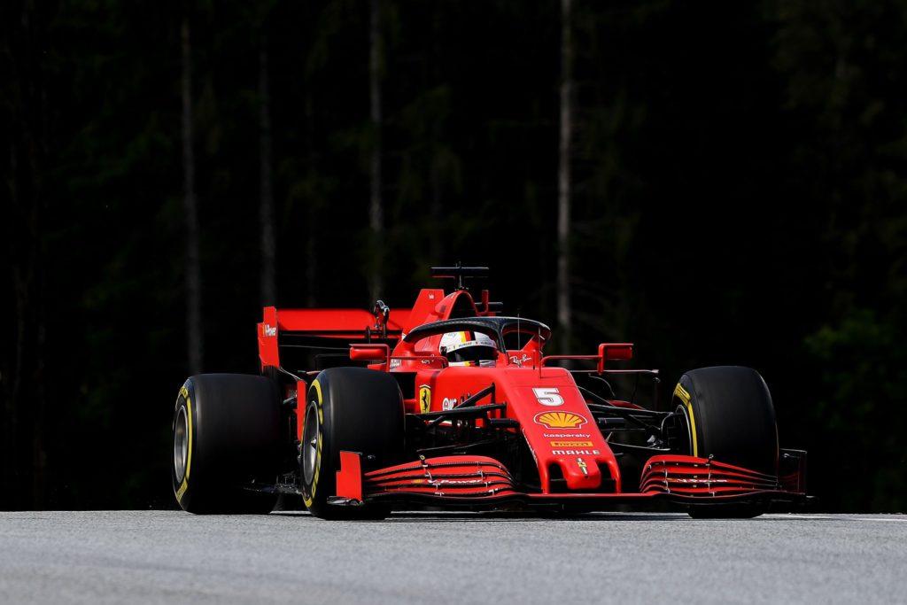 Vettel sfortunato e incolpevole per l'incidente col compagno di squadra Leclerc