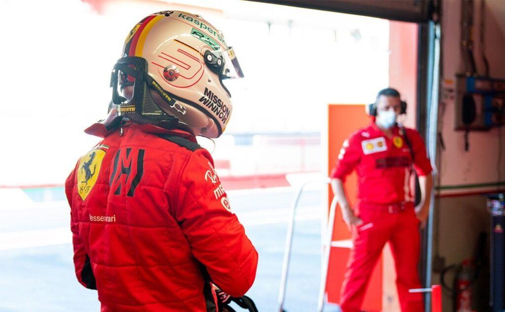 EssereFerrari secondo Vettel e secondo me