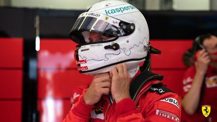 Vettel con un nuovo telaio in Spagna: