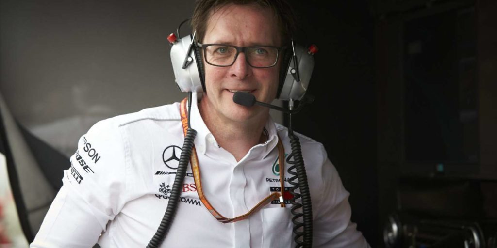 Mercedes, il 'Chief Race Engineer' Andrew Shovlin