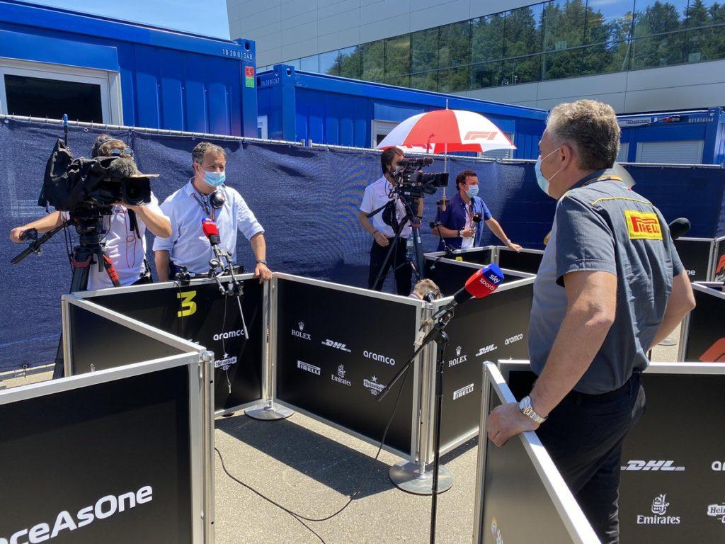 Pirelli, il responsabile F1 e Car Racing Mario Isola
