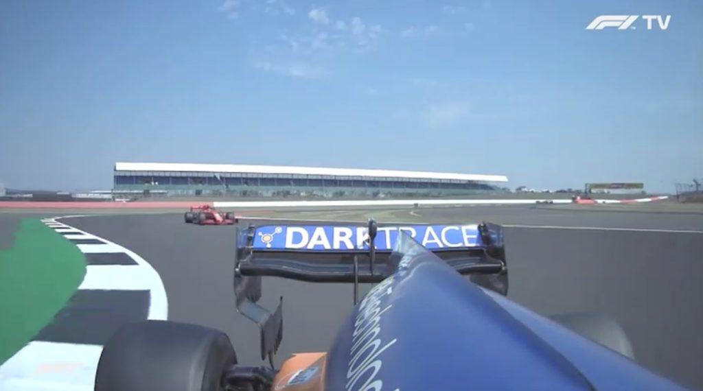 Analisi on board Leclerc-Gp 70º Anniversario
