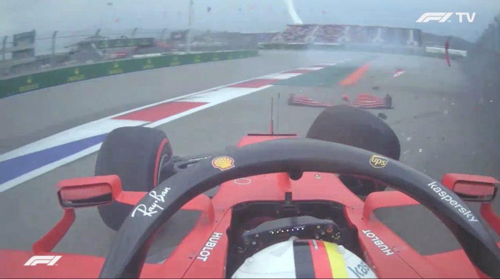 Analisi on board qualifiche-Vettel