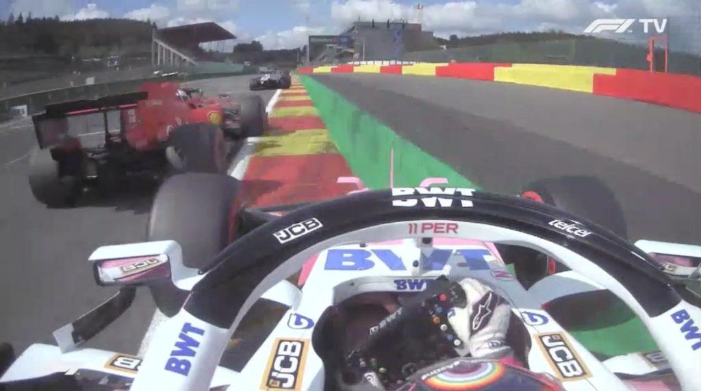 Analisi on board Leclerc-GP Belgio 2020
