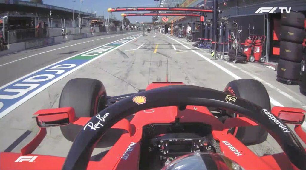 Analisi on board Vettel-Qualifiche Gp Italia2020