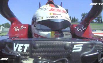 Analisi on board Vettel-Gp Toscana 2020