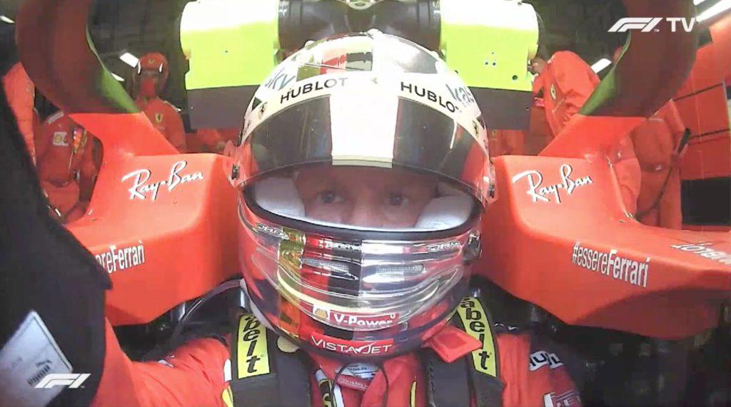 Analisi On board Vettel-GP Italia 2020