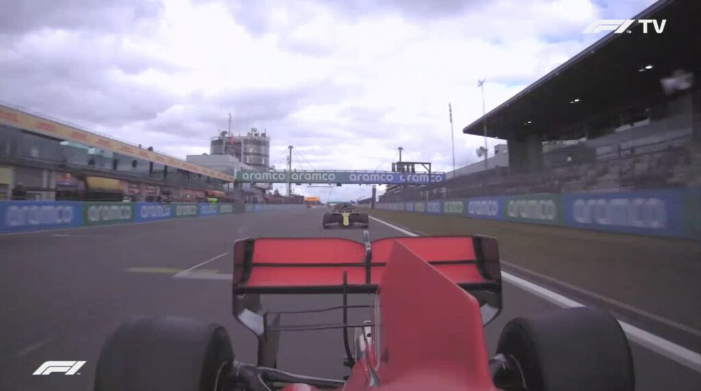 Analisi on board Leclerc-Gp Eifel 2020